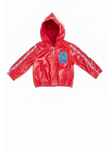BG Baby Kız Bebek Kırmızı Yağmurluk Kırmızı